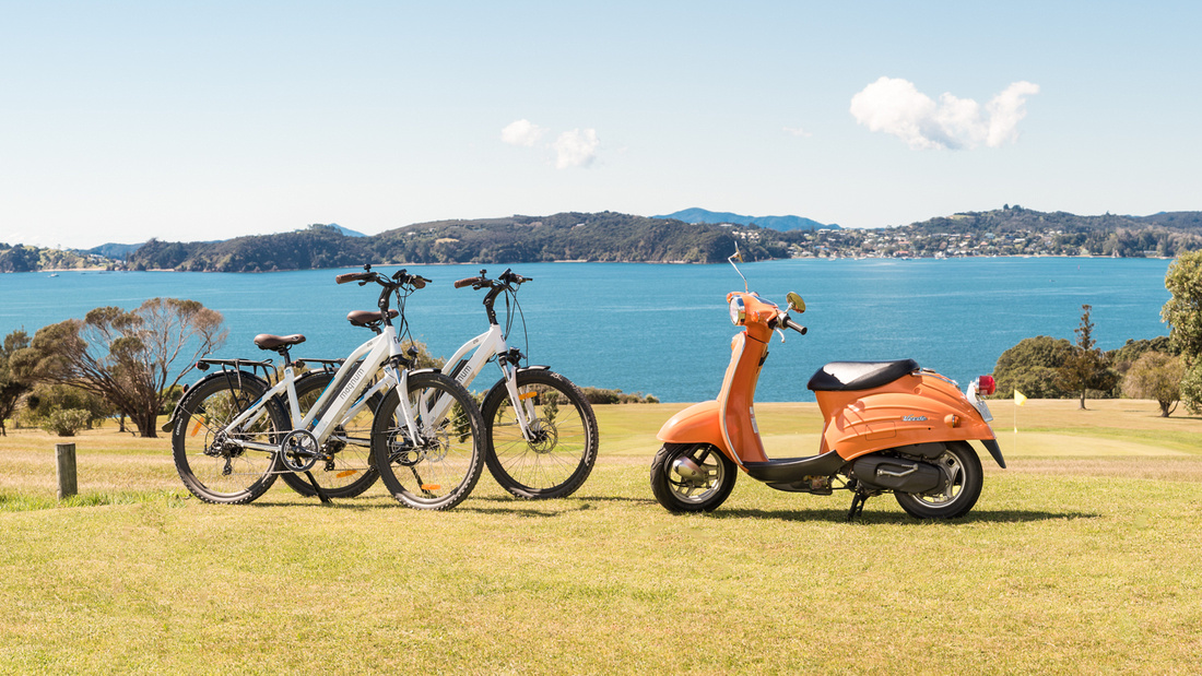 Bay of Islands Scooters & E-bike Hire